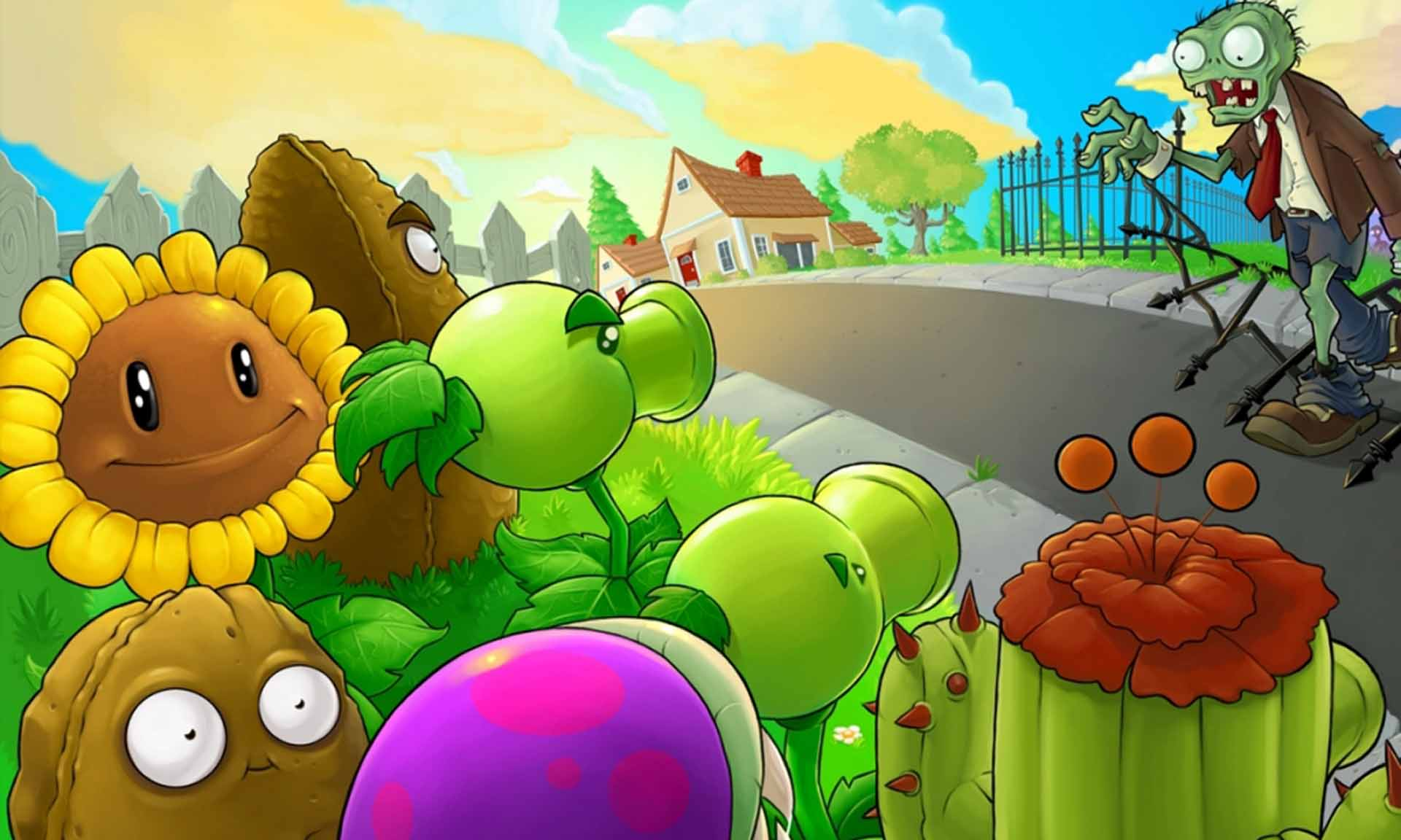 Background image vs background - Plants Vs Zombies Chino