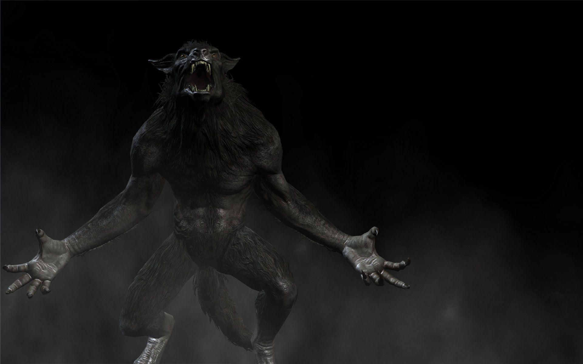 Skyrim werewolf wallpaper hd - photo#1
