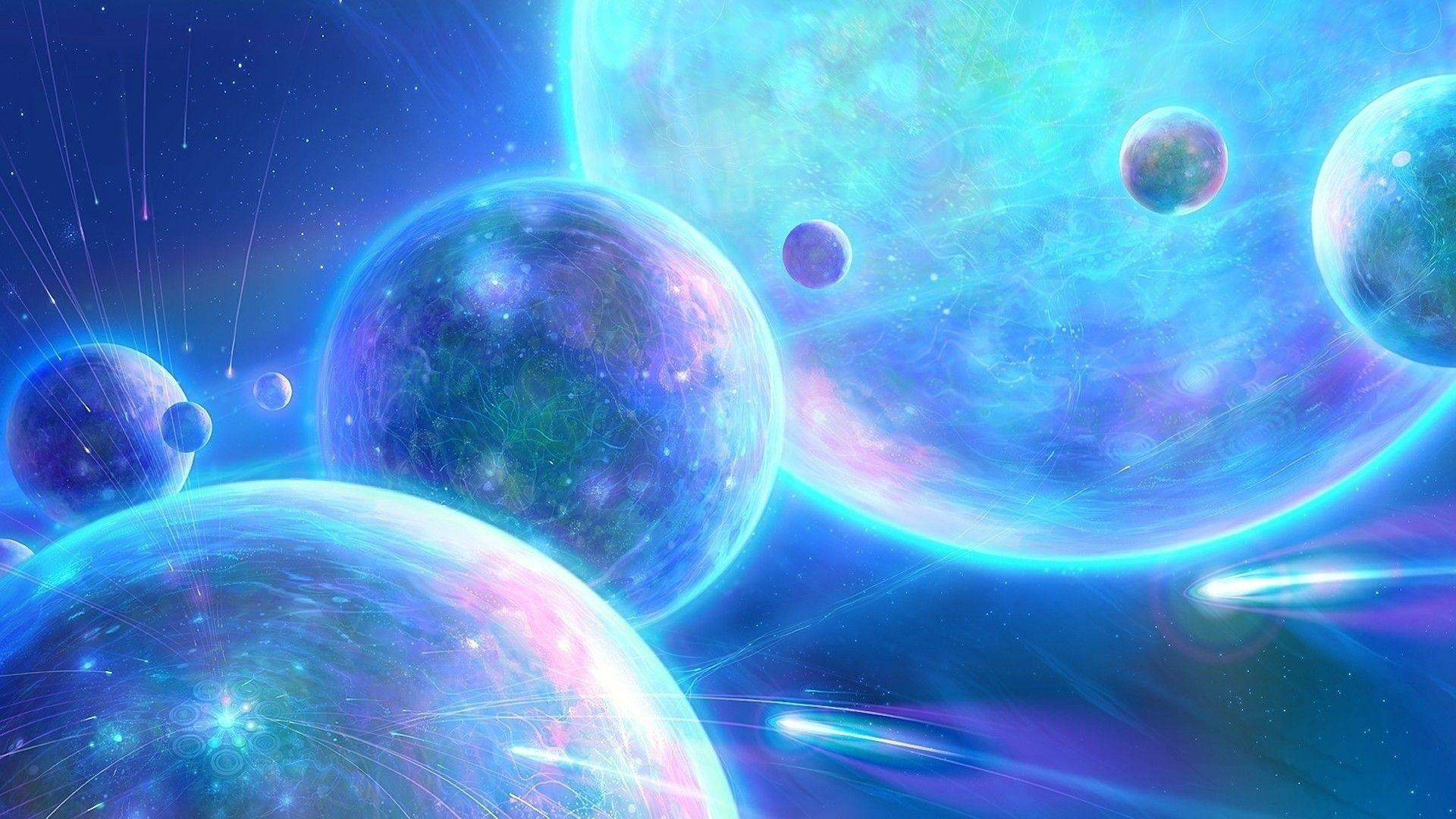 Abstract Kids Outer Space Wallpapers for Rooms 1920x1080PX