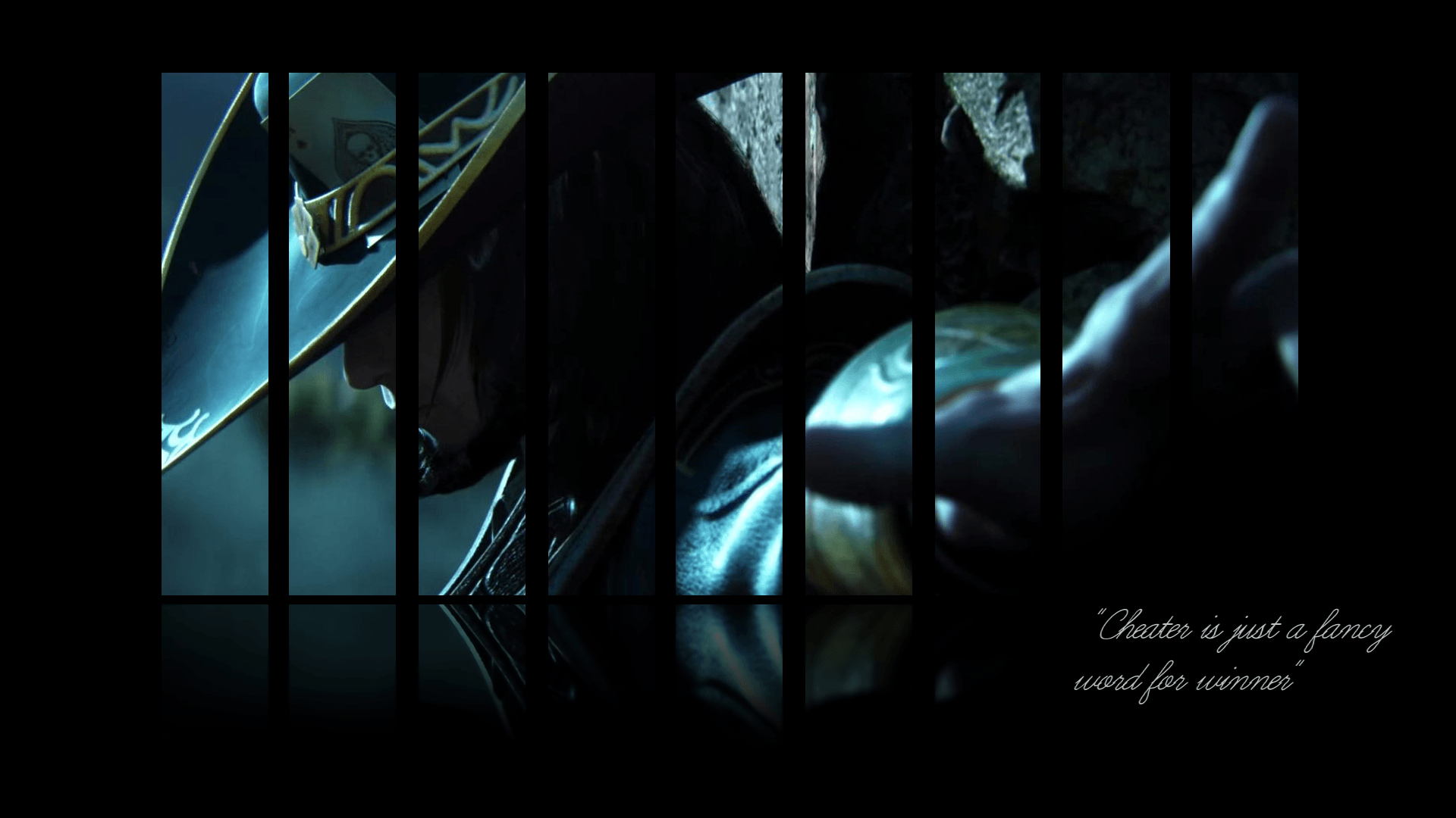 twisted fate backgrounds wallpaper cave