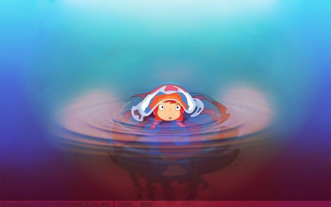 Ponyo wallpapers wallpaper cave for Wallpaper wallpaper wallpaper