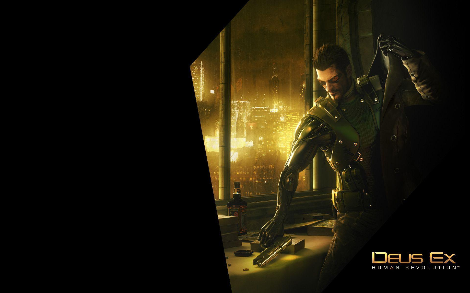 Deus Ex Human Revolution Wallpapers Ready for Action