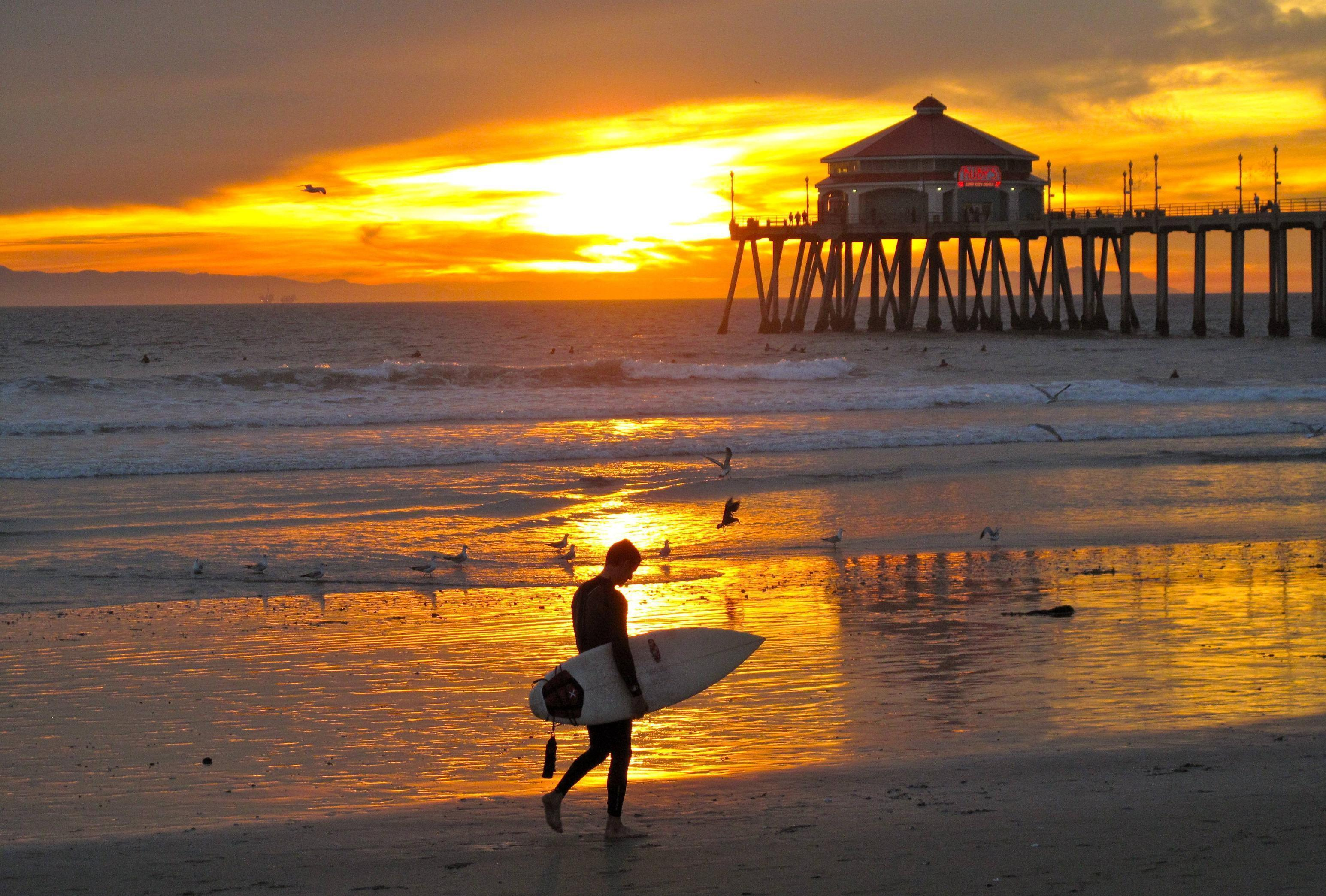 Huntington Beach Wallpapers Wallpaper Cave