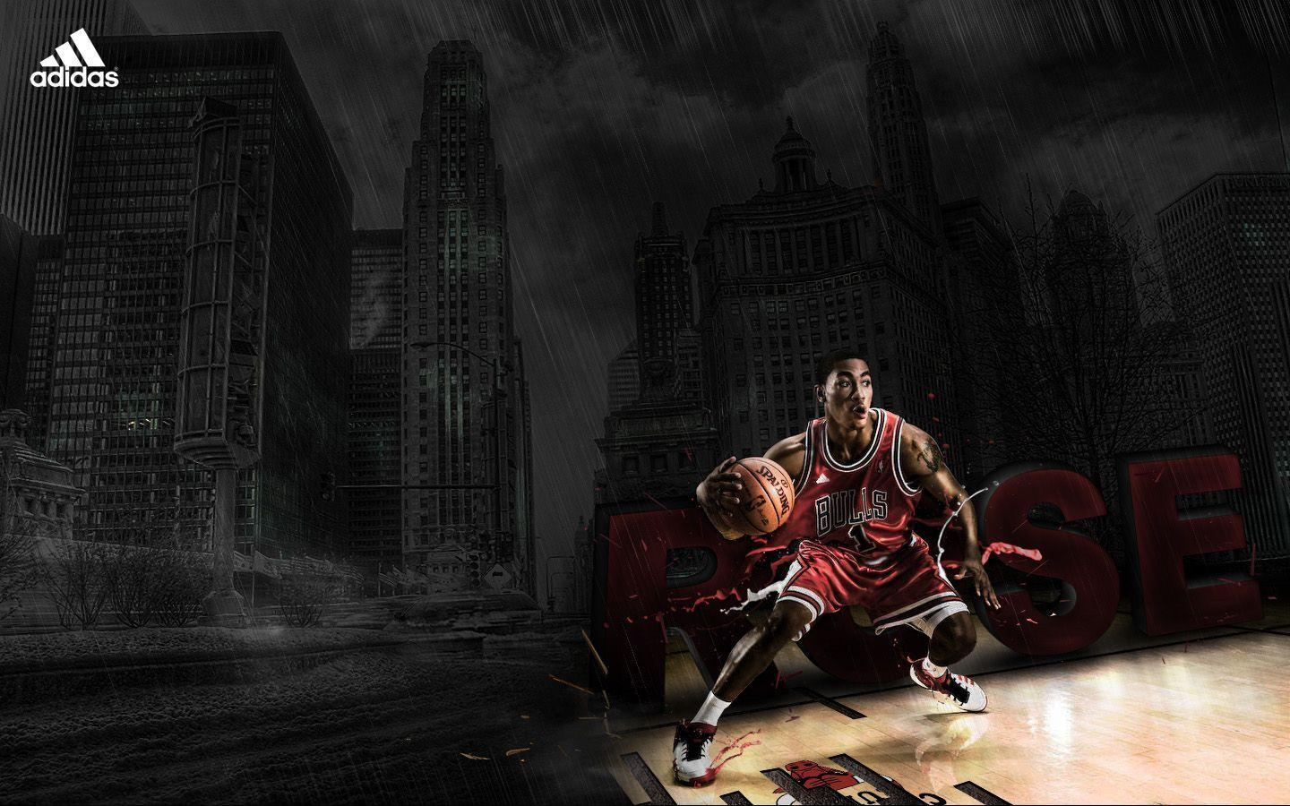 Wallpapers For > Derrick Rose Adidas Wallpapers