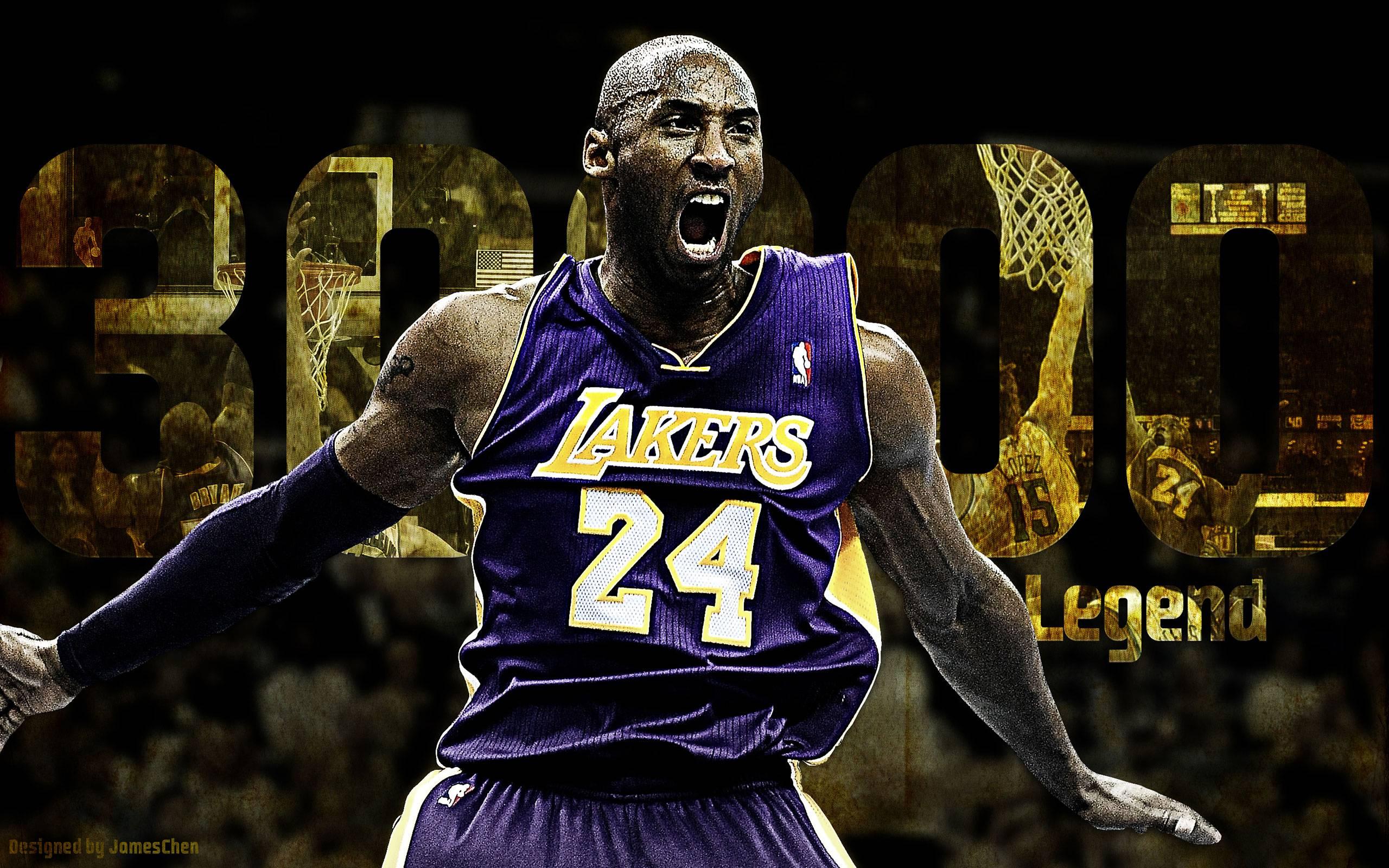 Download High Quality Kobe Bryant 30000 Points Celebration .