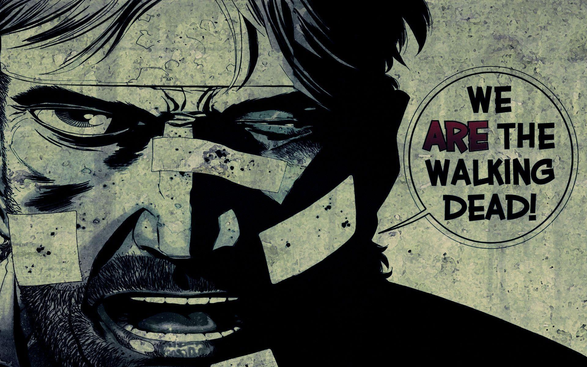 Image For > Walking Dead Comic Wallpapers Hd