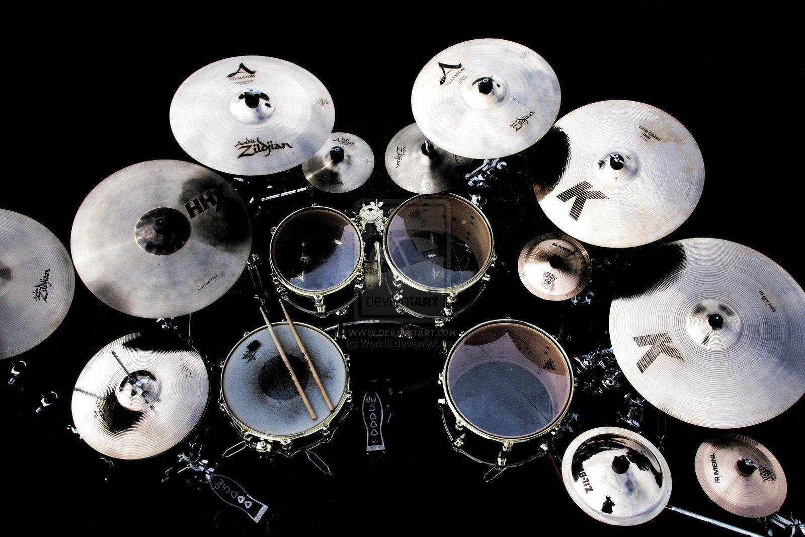 Image For > Drum Kit Wallpapers