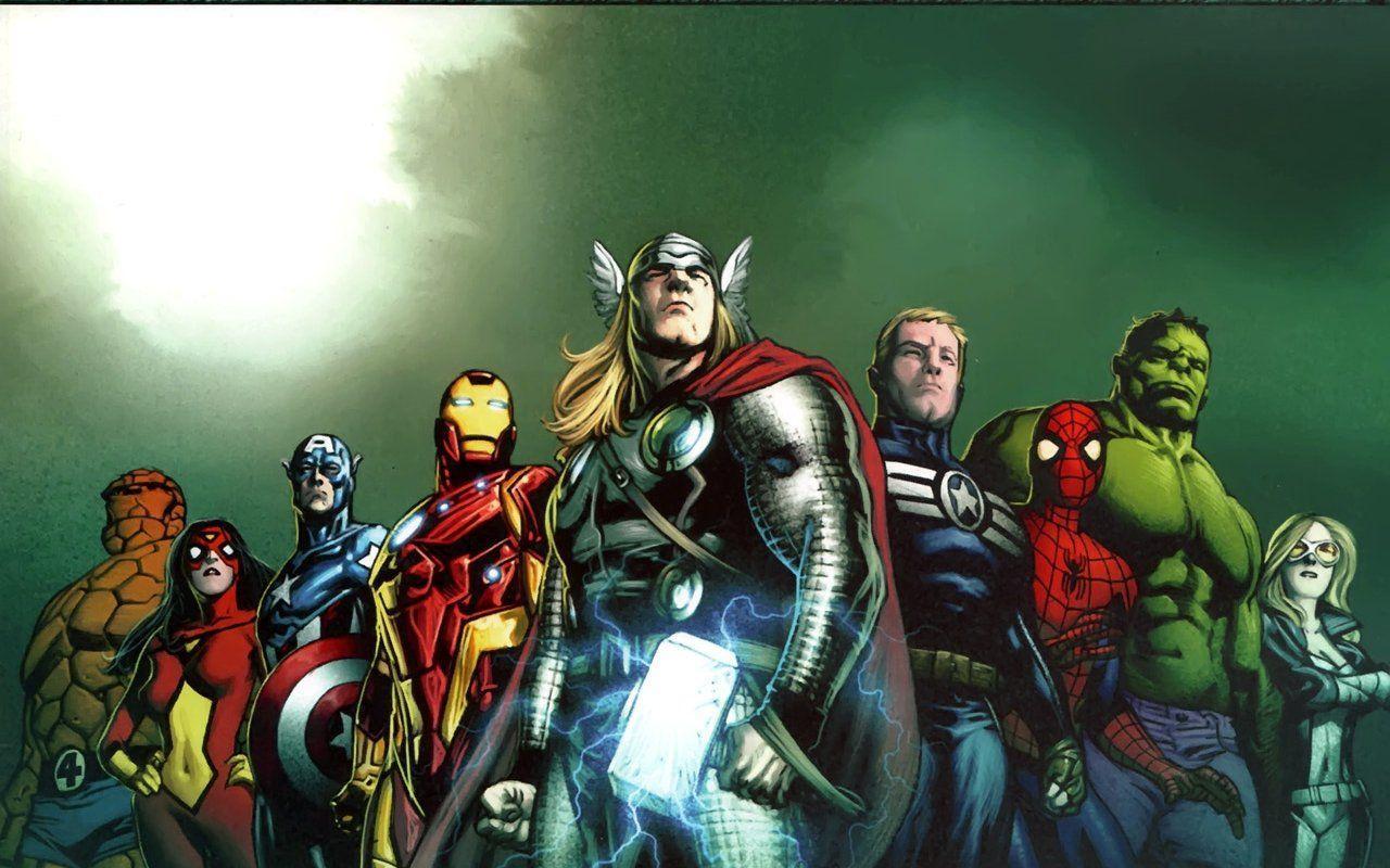 Imagenes De Ironman Para Fondo De Pantalla: Avengers Comic Wallpapers