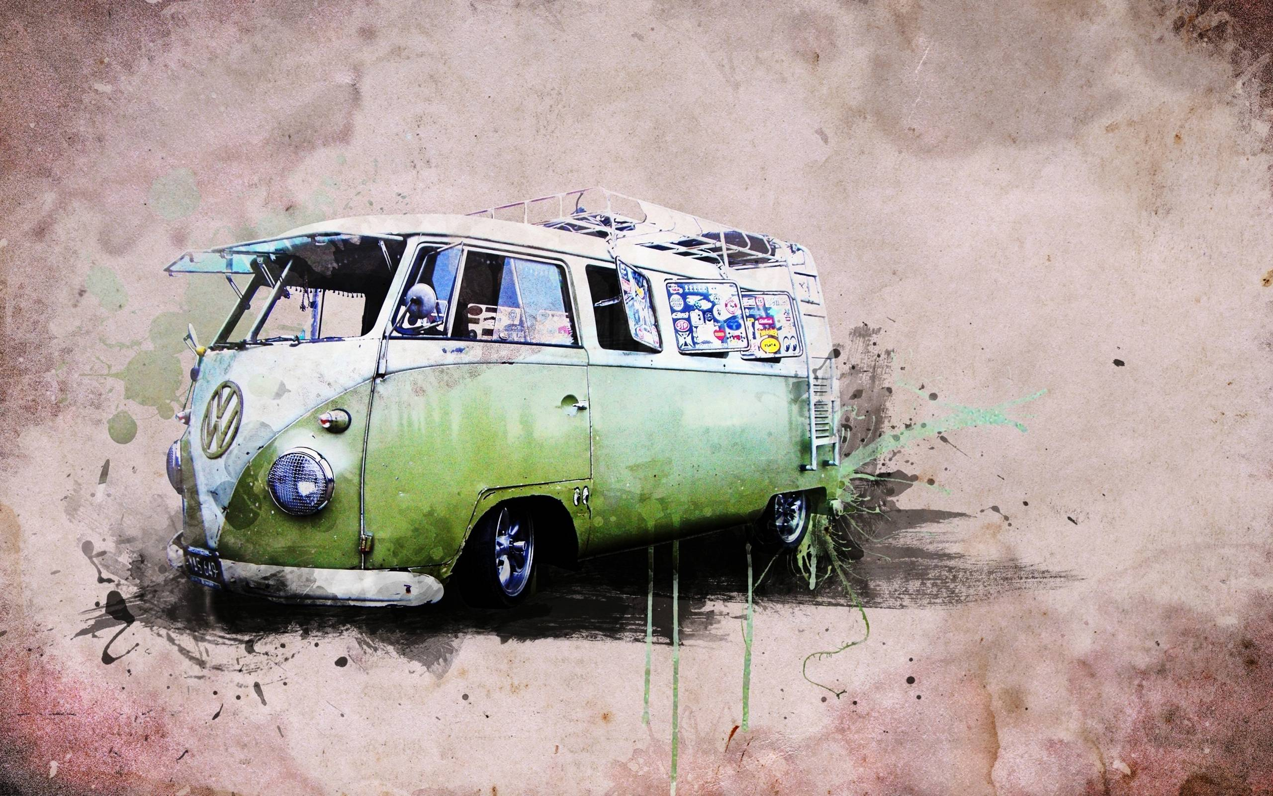 old vw buses wallpaper - photo #9