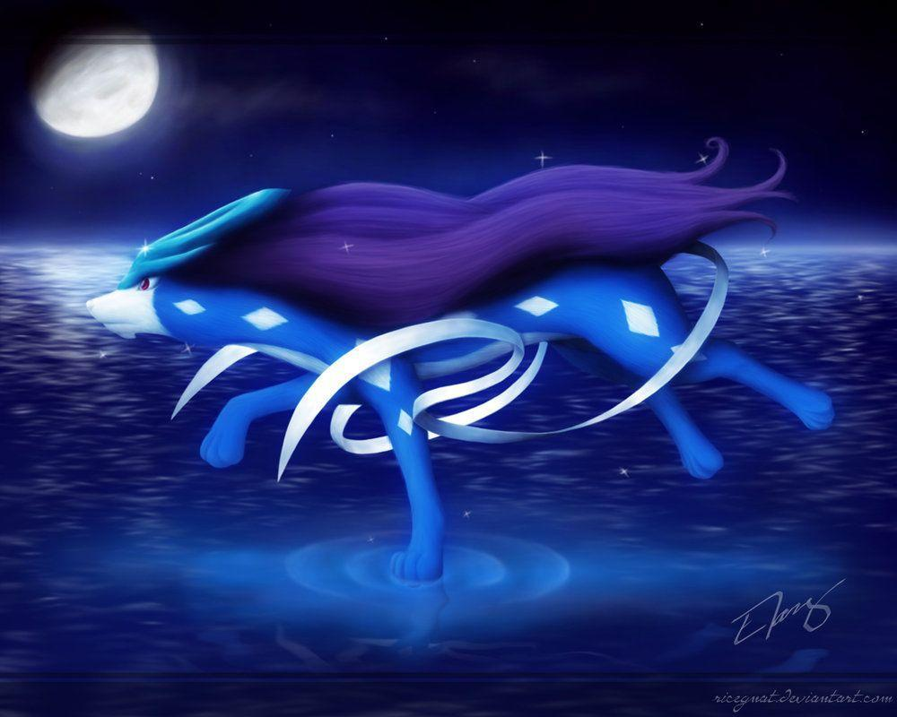 suicune pokemon hd wallpapers - photo #16