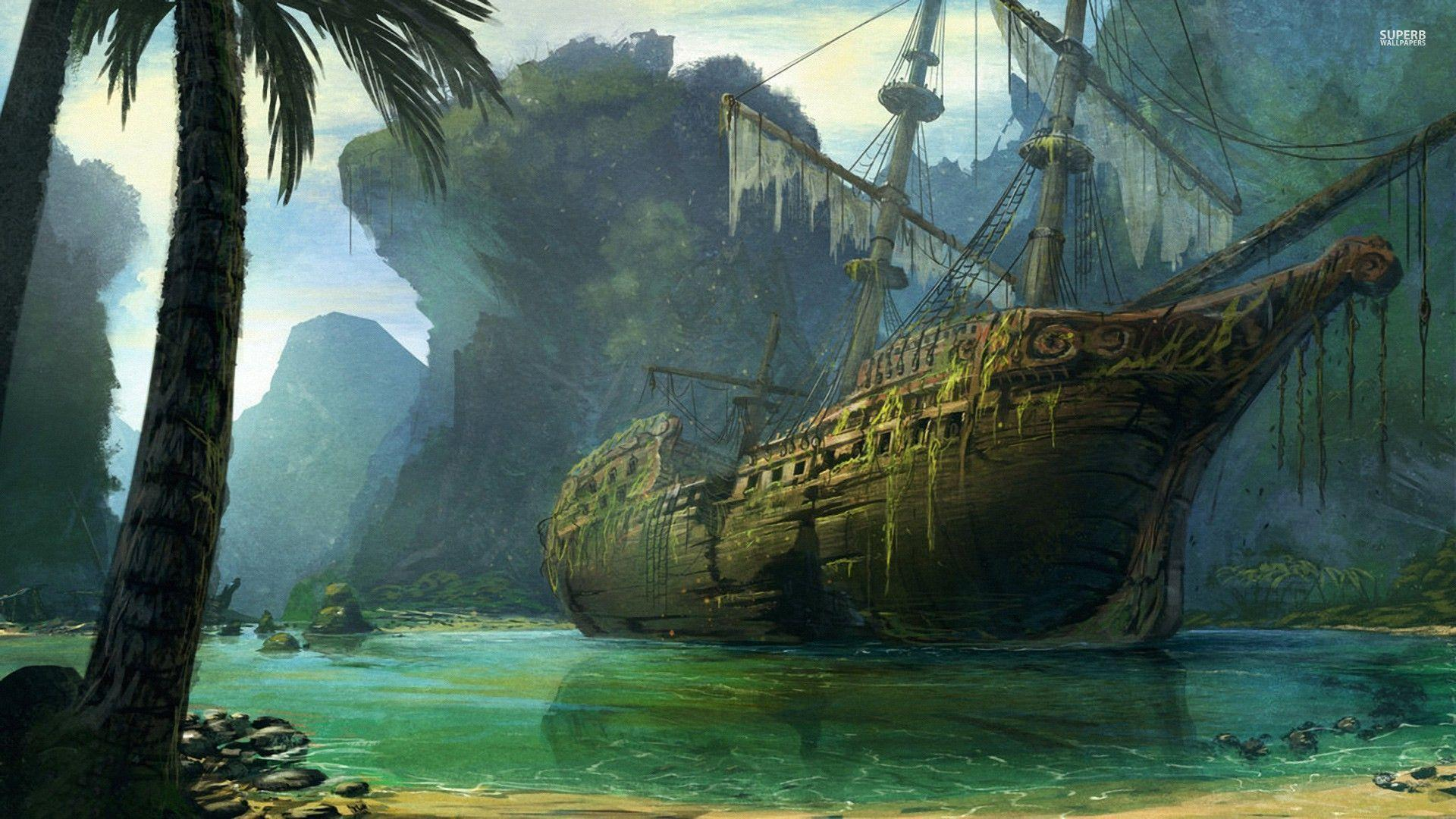 pirate ship computer wallpapers - photo #6