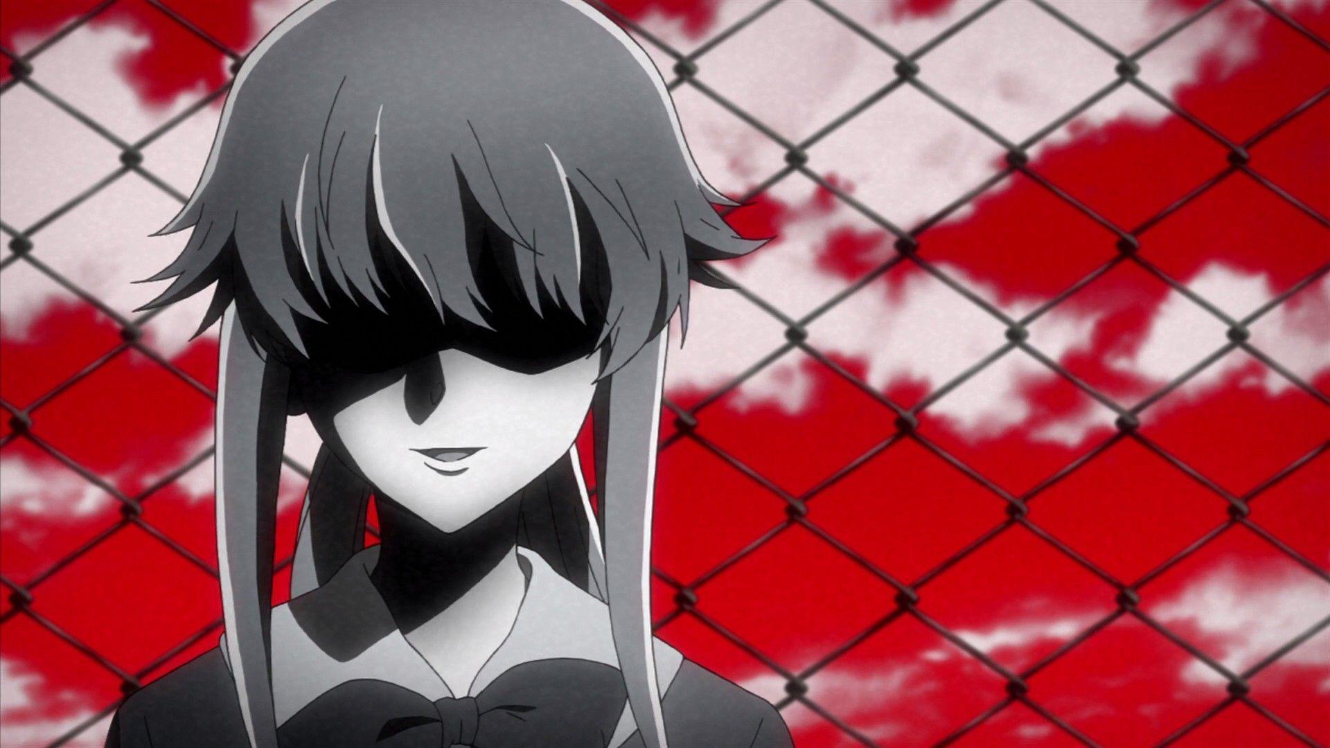 Mirai Nikki Gasai Yuno Yandere Anime Anime Girls: Mirai Nikki Wallpapers