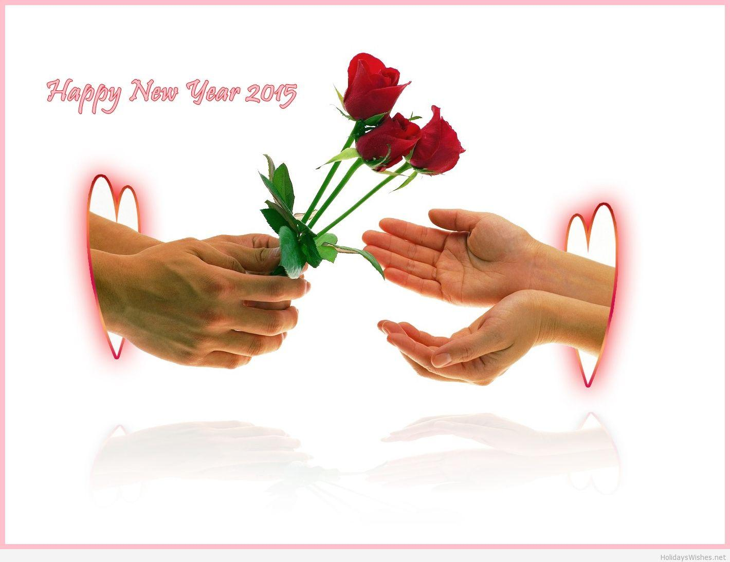 Love wallpapers 2015 happy new year