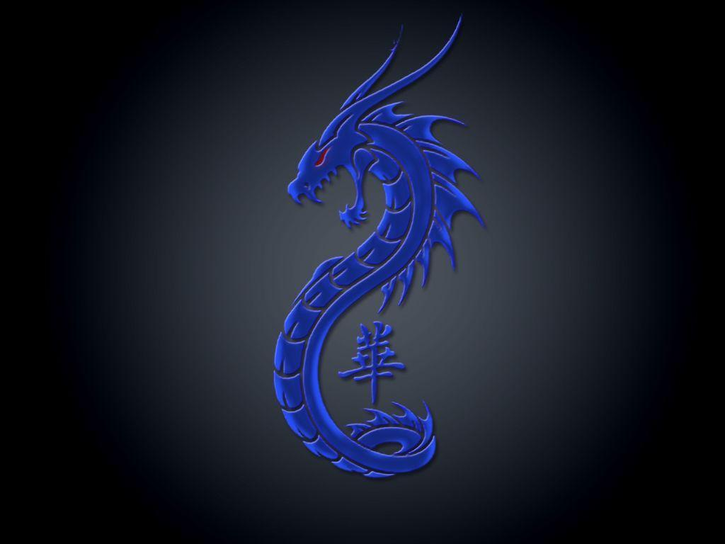 Wallpapers For > Blue Dragon Wallpapers Hd