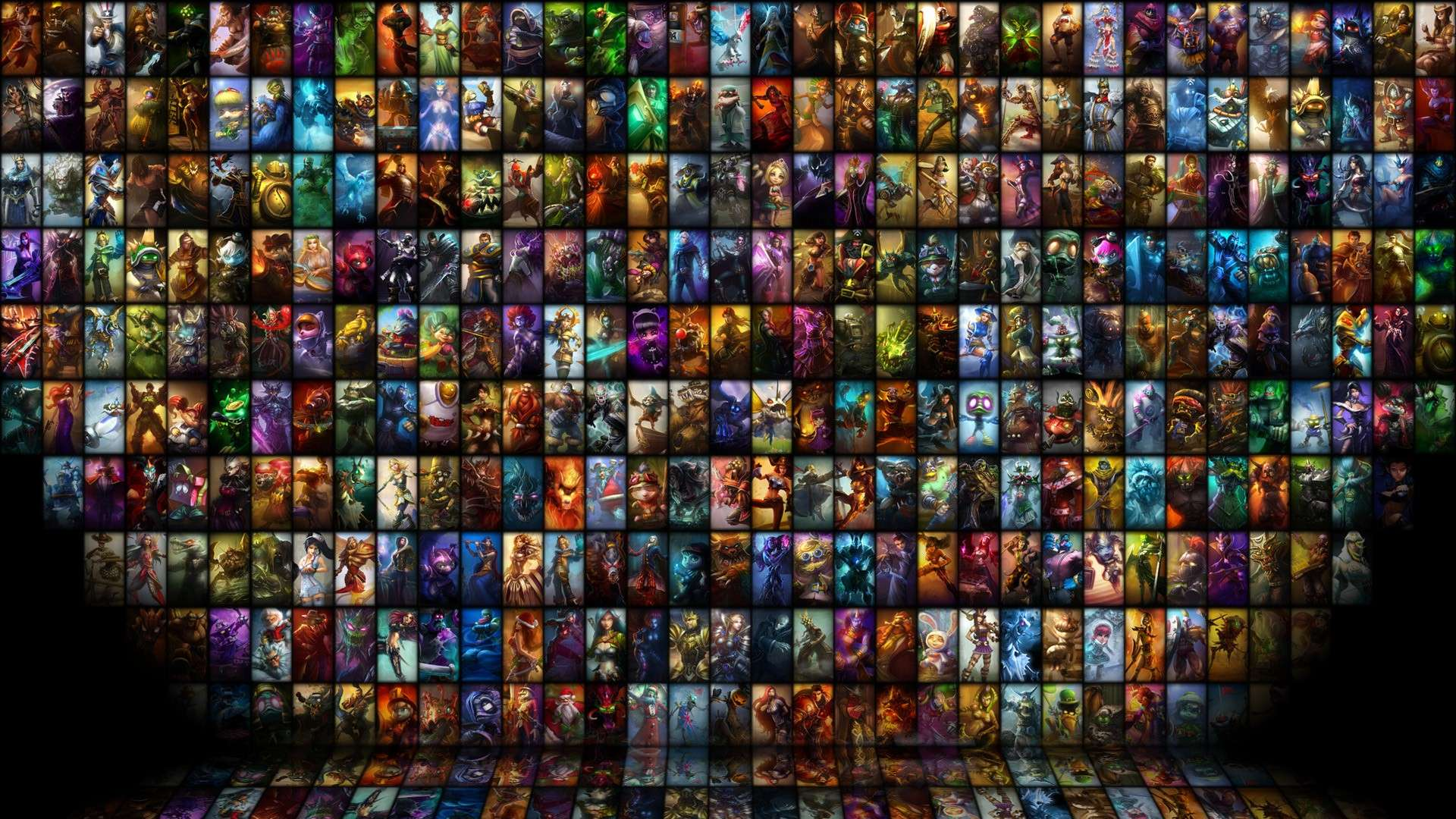 League of Legends Heroes HD resolution wallpapers photo