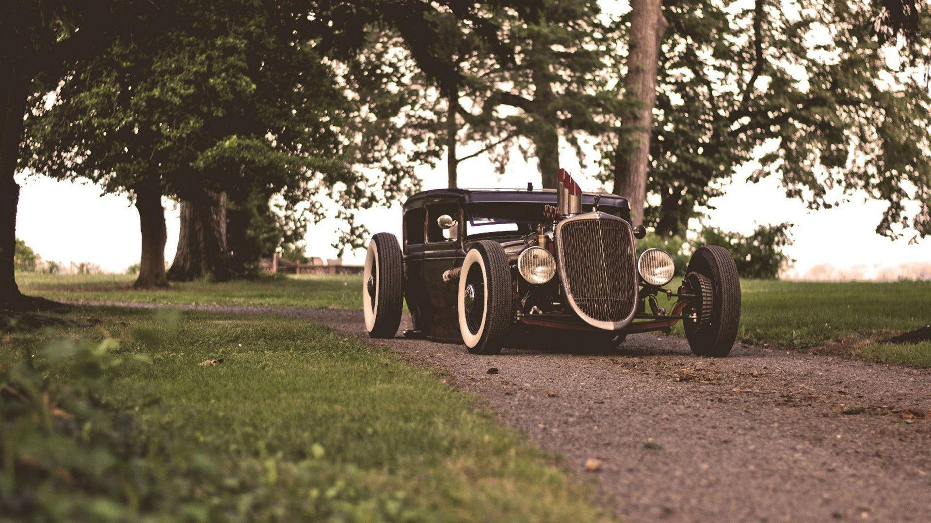 Wallpapers ford, hotroad, ratroad, rat, ford, hot rod, retrod