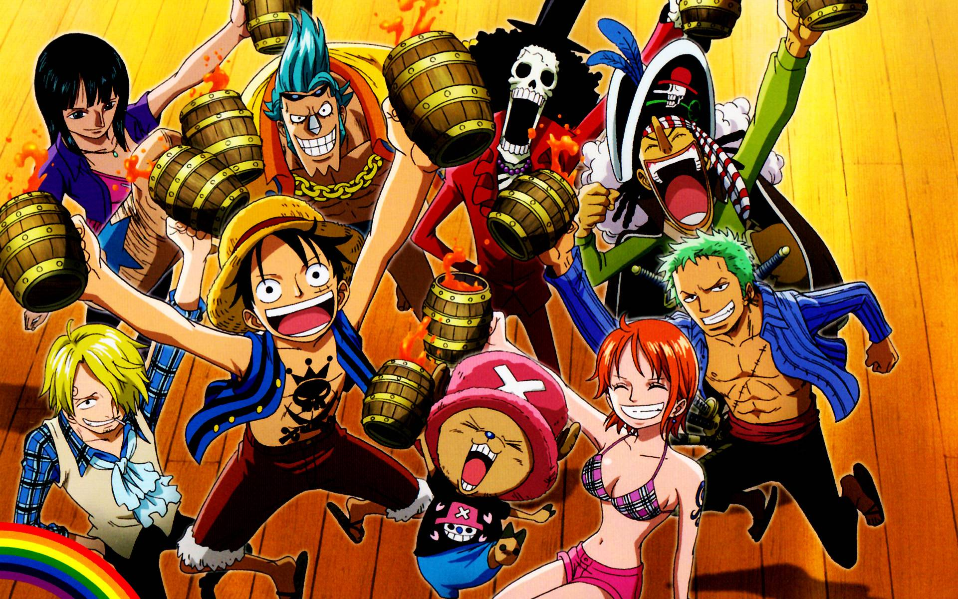 One Piece Crew Wallpapers