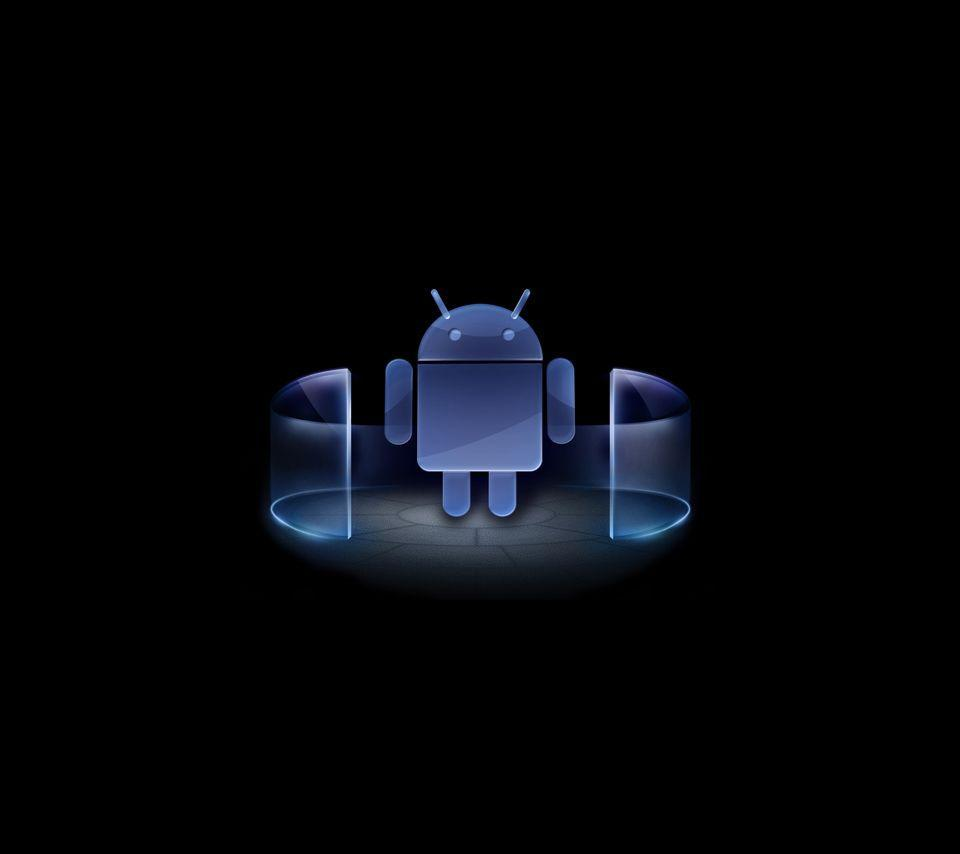 Wallpaper V Wallpaper For Android: Blue Android Wallpapers