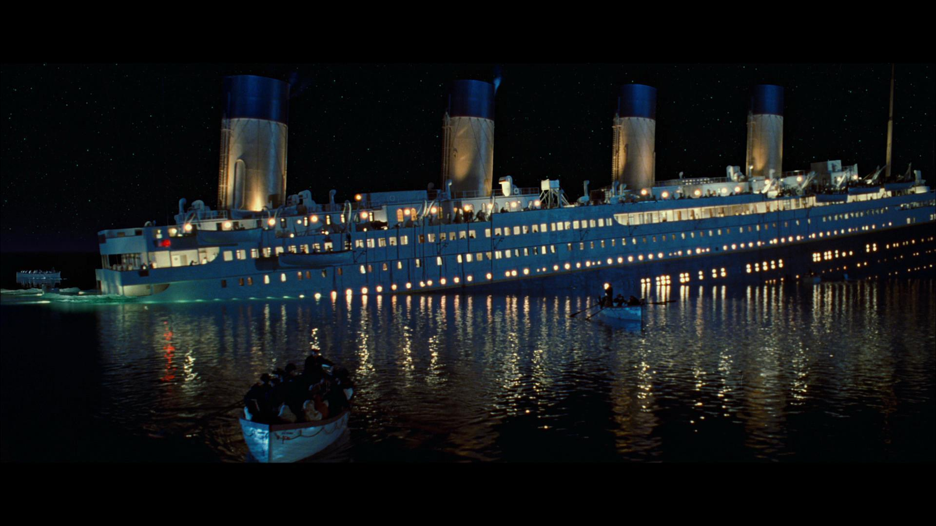 Images For > Titanic Sinking Wallpaper