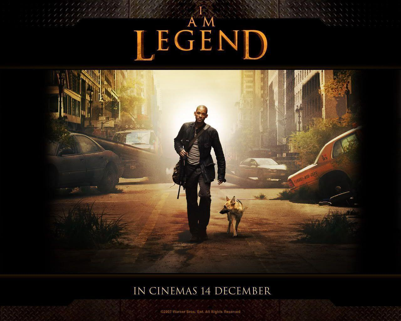 I Am Legend Movie Poster I Am Legend Wallpapers...