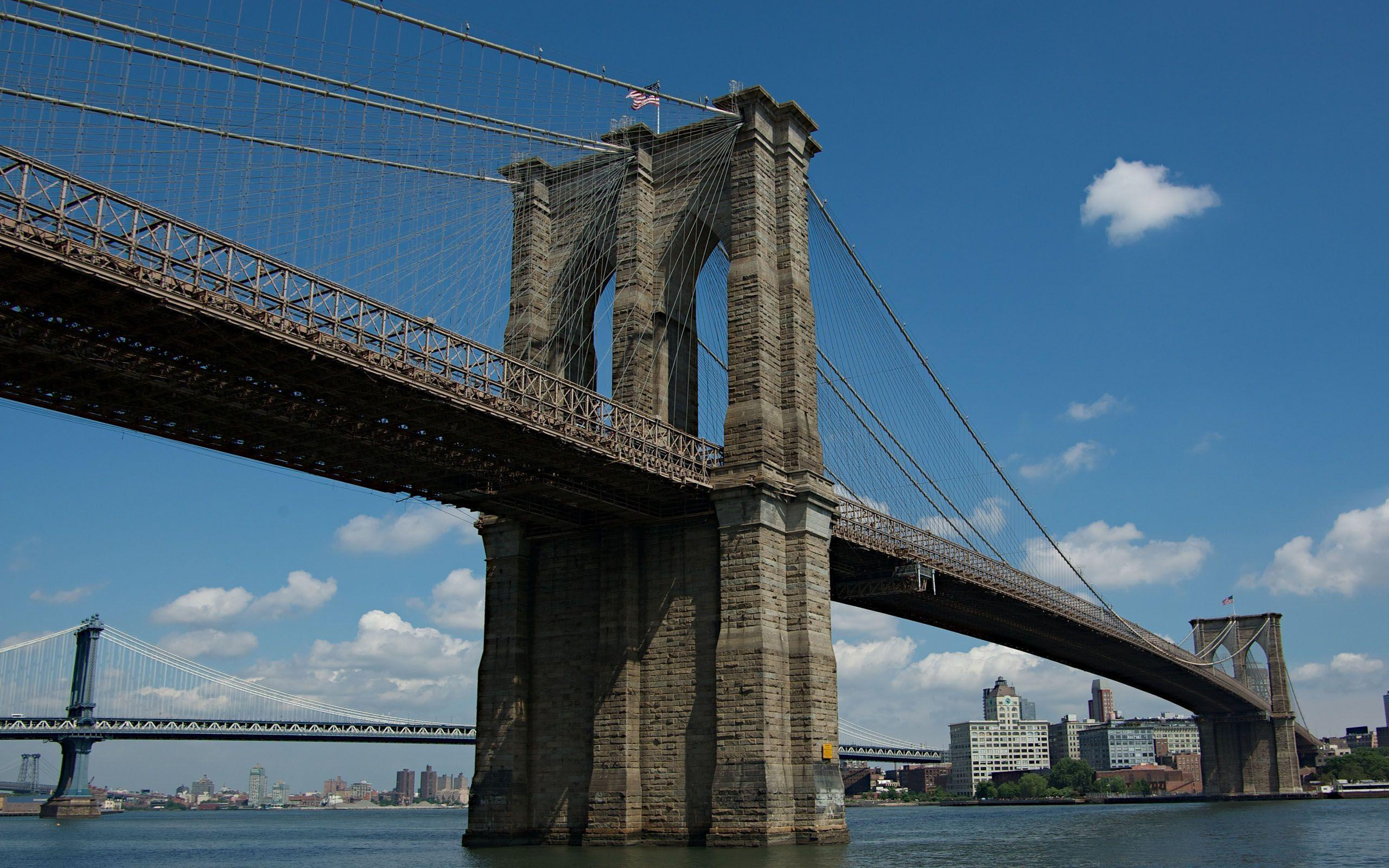 Brooklyn Bridge New York 2560x1600 wallpapers