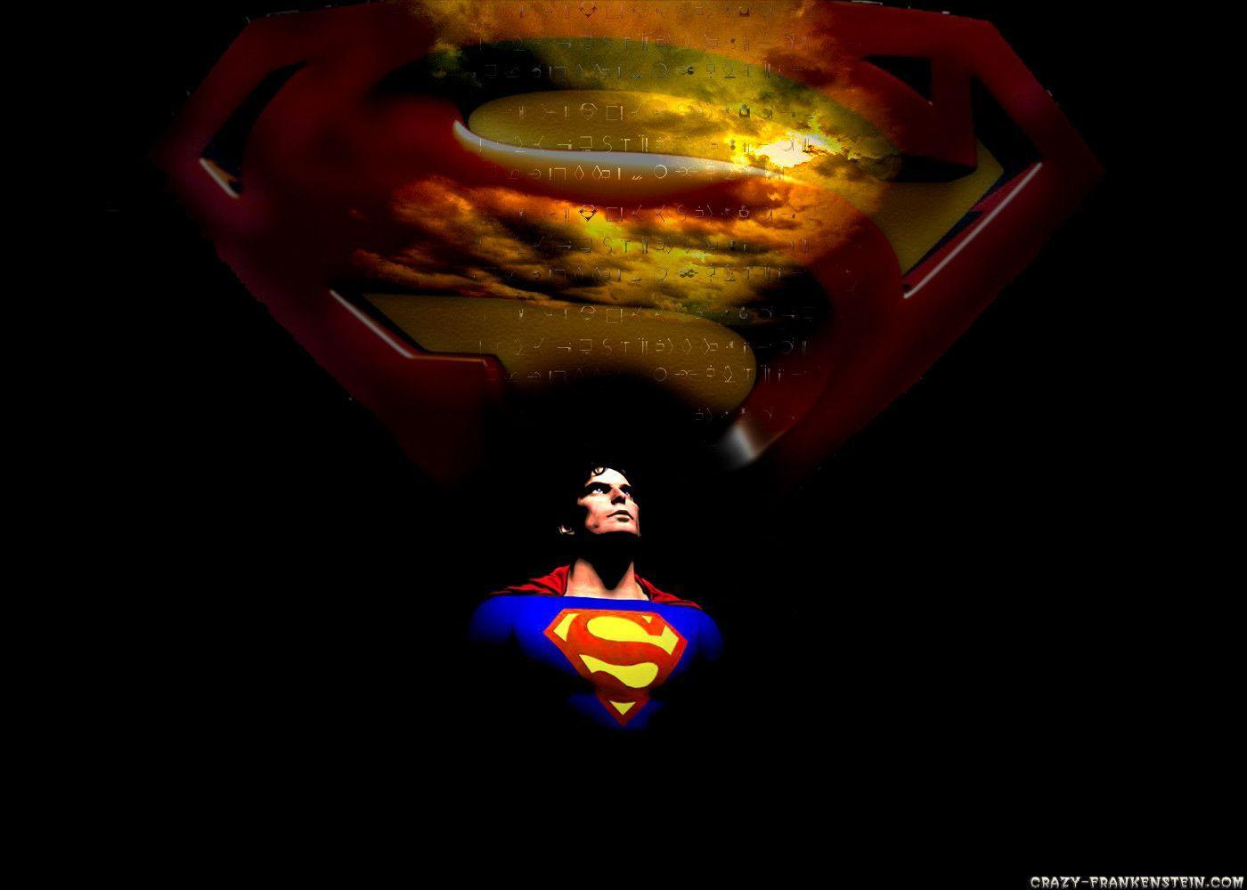 Hd Wallpaper Superman | Black Wallpapers For Desktop