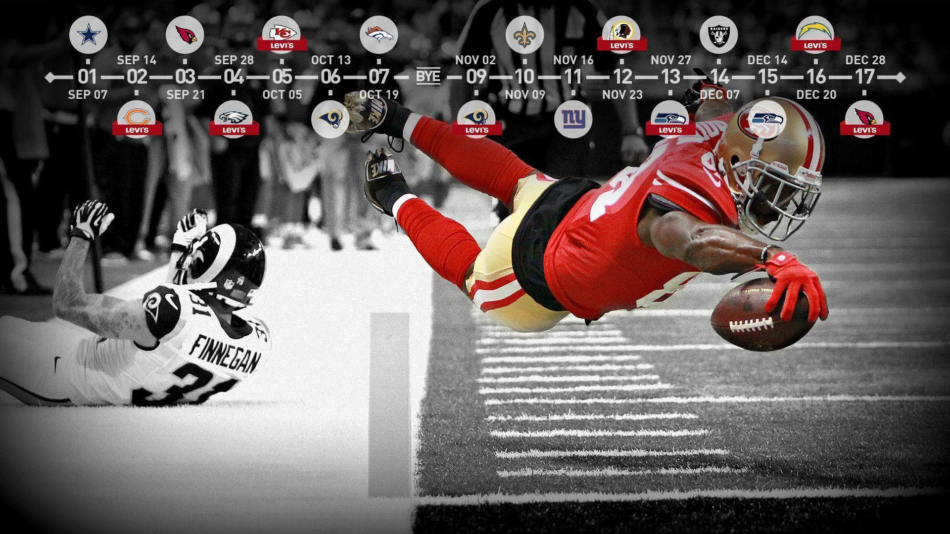 Free 49ers wallpapers your phone wallpaper cave 49ers 2014 schedule cell phone desktop wallpaper google voltagebd Gallery