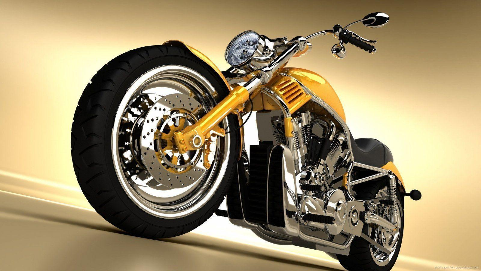 Harley Davidson 3d Wallpapers Wallpaper Cave
