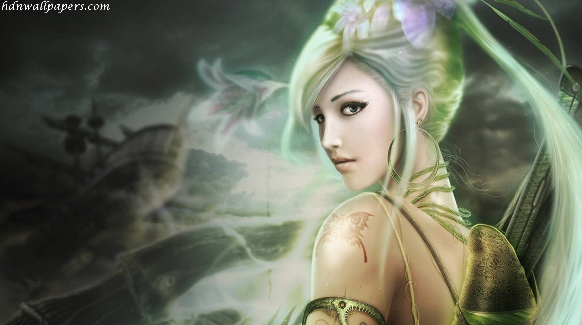 Fairy wallpapers wallpaper cave fairy wallpaper hd 1366x768 hd wallpapers 100 high quality voltagebd Image collections