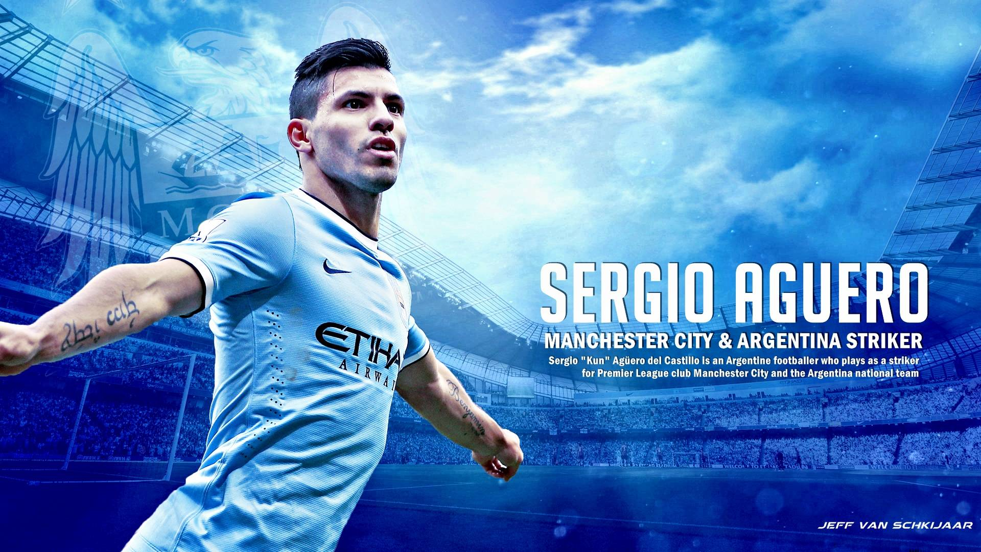 Sergio Aguero Soccer Player Wallpapers: Man City Wallpapers Terbaru 2015