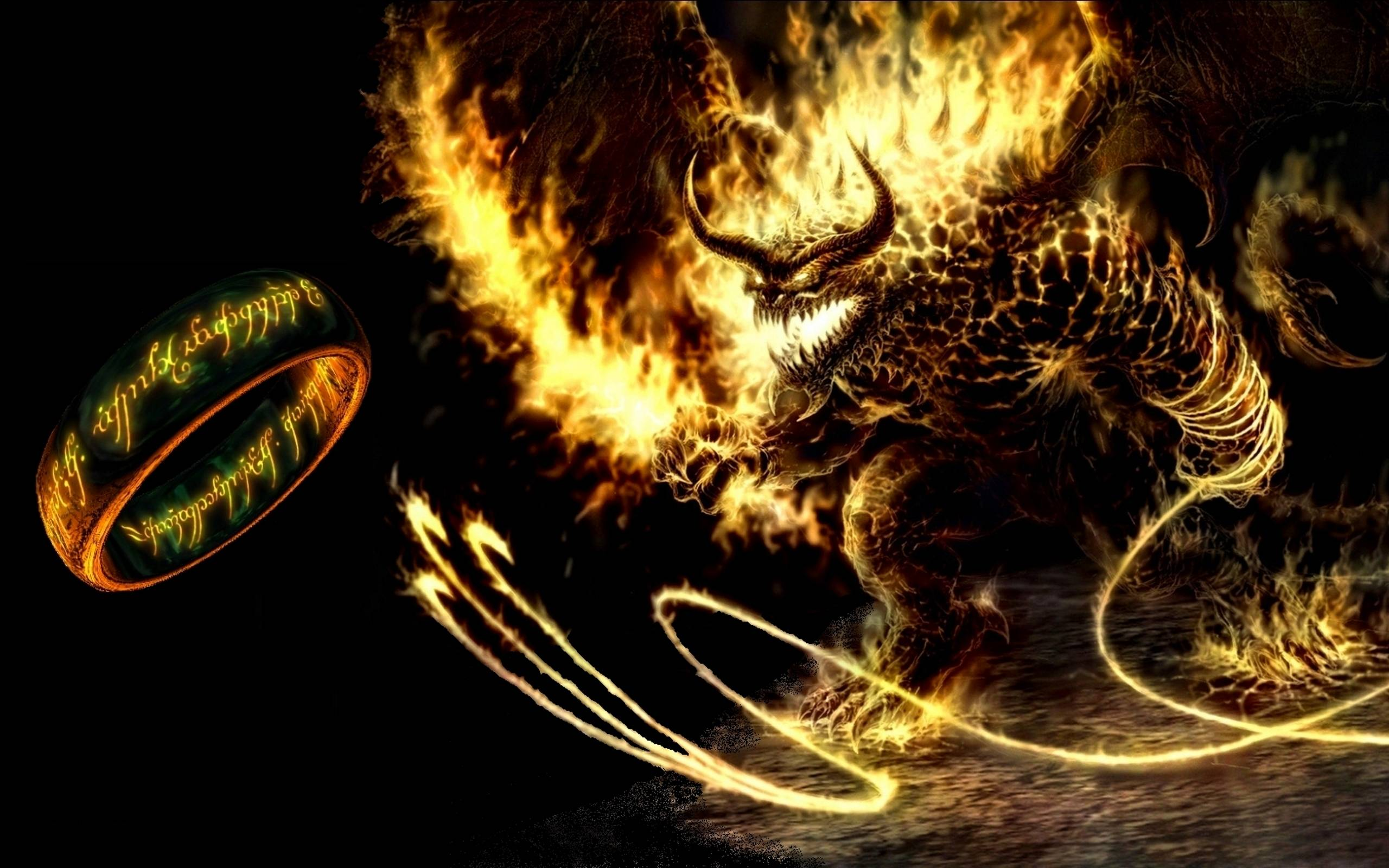 Balrog - Lord of the Rings Wallpaper (4801031) - Fanpop