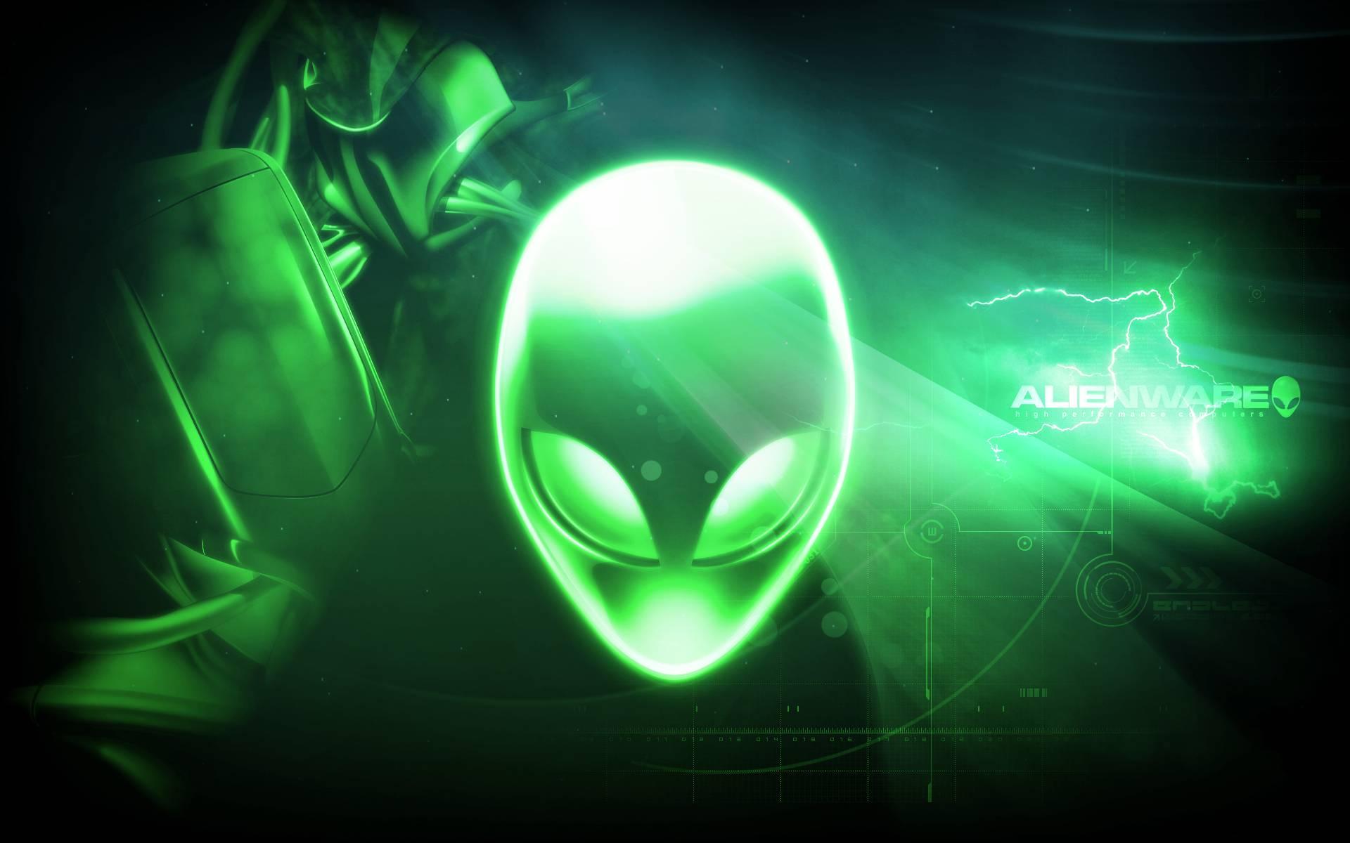 alienware wallpaper green hd - photo #15
