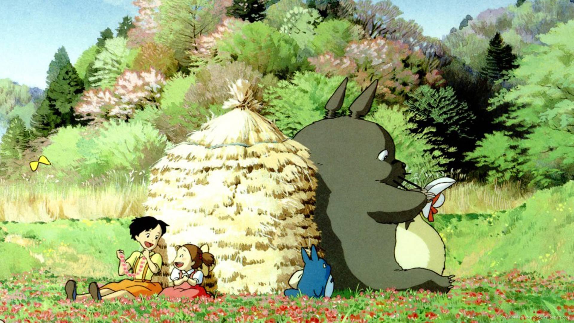 My Neighbor Totoro Wallpapers - Wallpaper Cave
