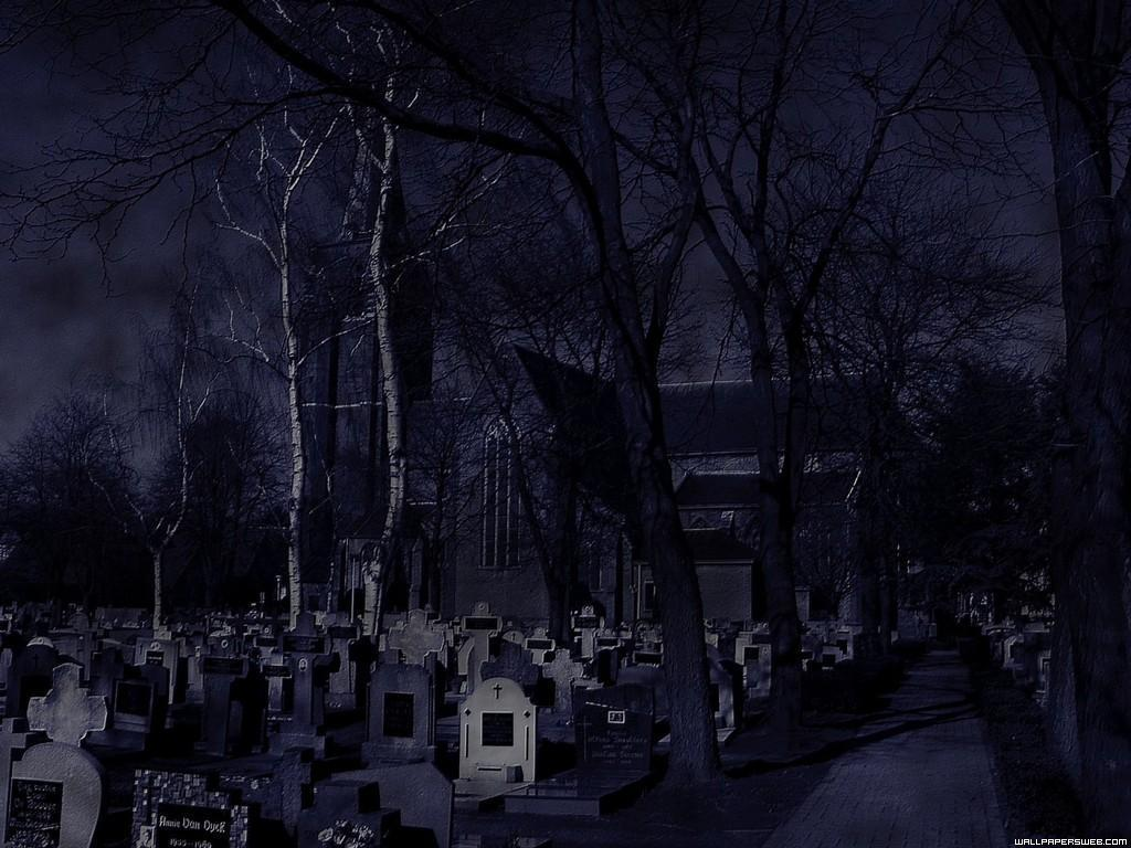 image gallery haunted graveyard wallpaper