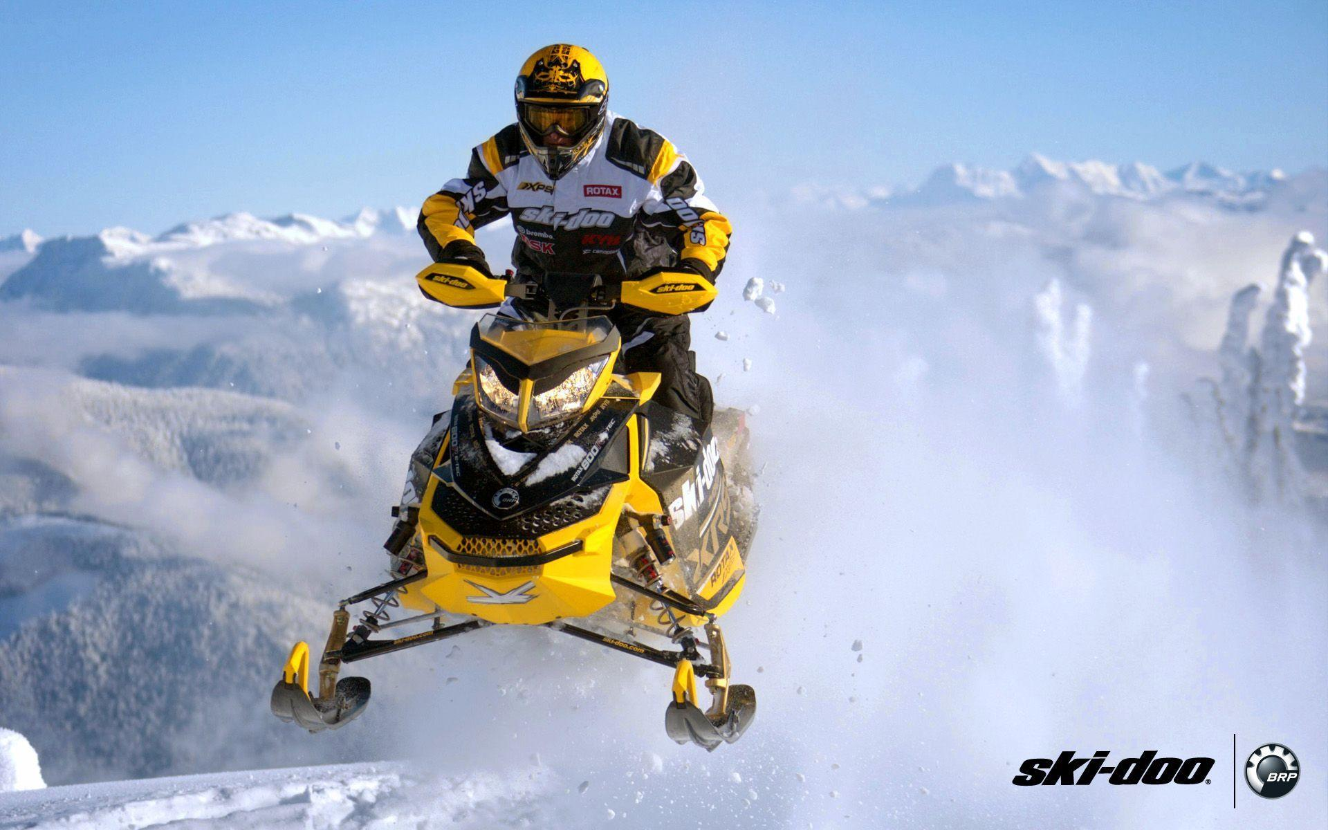 SKI DOO MXZ Turbo Sno Pro Snowmobile Winter Ski Doo R Wallpaper