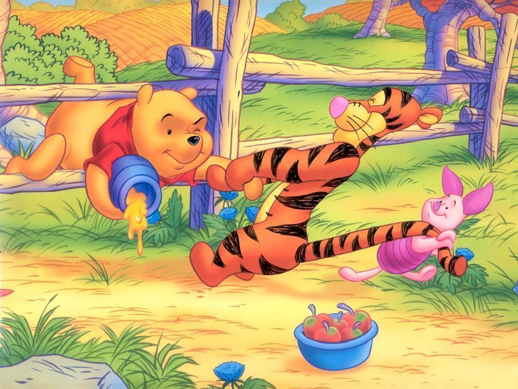 Image Result For Pooh Bear Desktop Wallpapers Wallpaper Cave