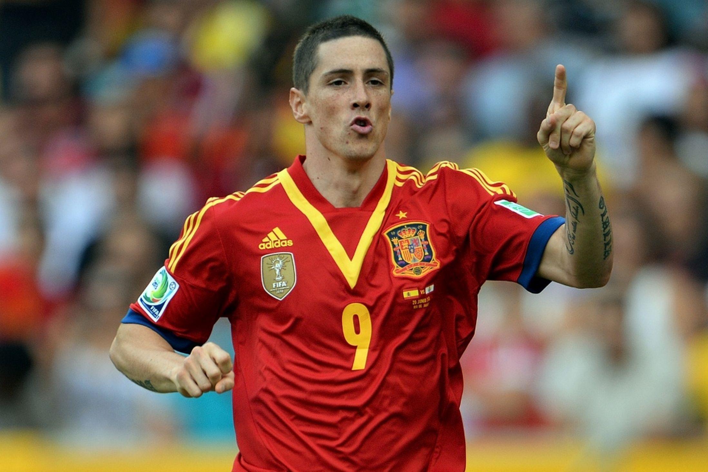 Сборная испании по футболу фернандо торрес