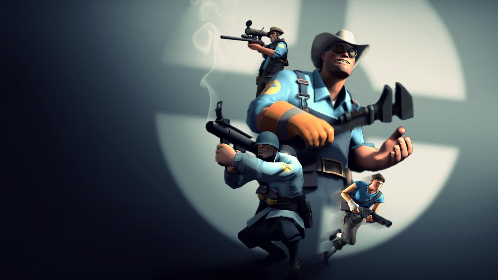 Team Fortress 2 BLU Wallpapers HD Game Wallpape HD Game