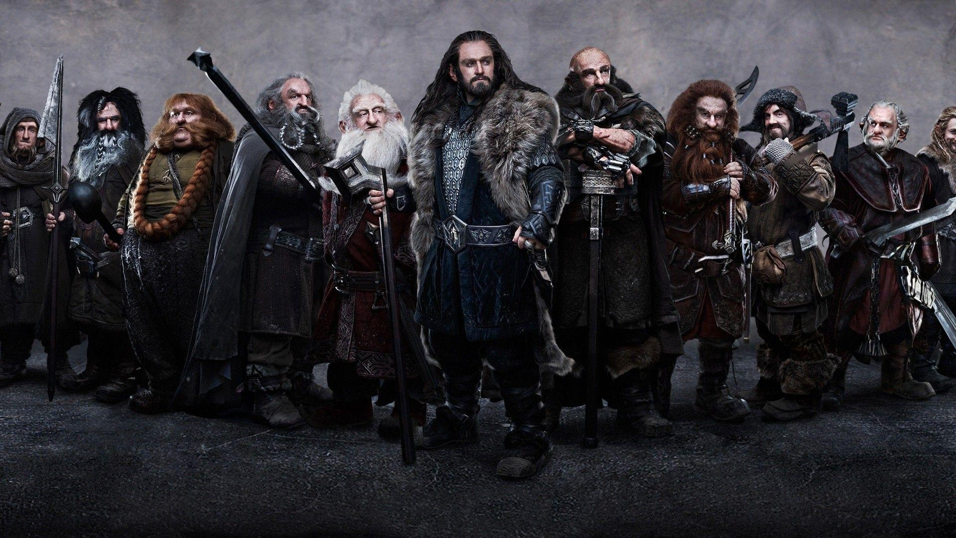The Hobbit dwarves Wallpaper #