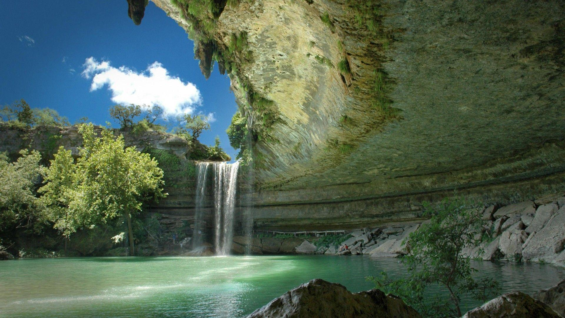Landscape Waterfall Water Wallpapers