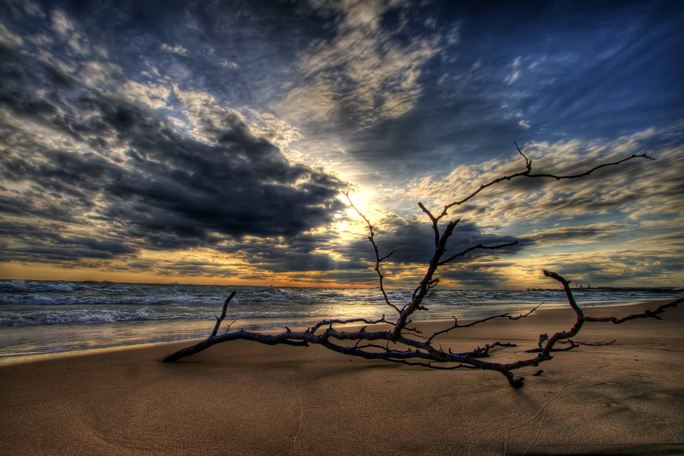 beach hdr stones harmony - photo #10
