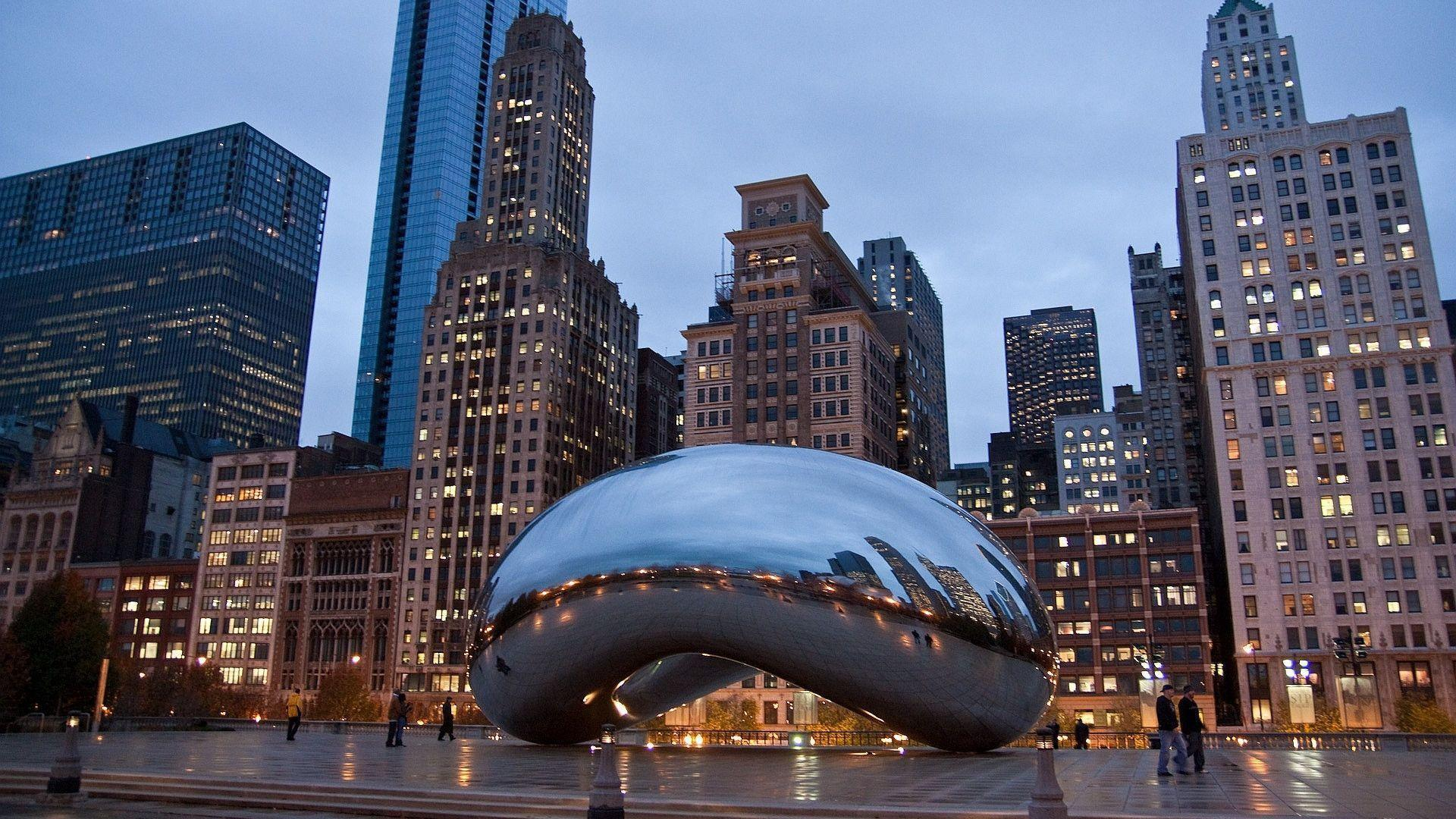 Cloud Gate Chicago Wallpaper 1920x1080PX ~ Wallpaper Chicago #76490