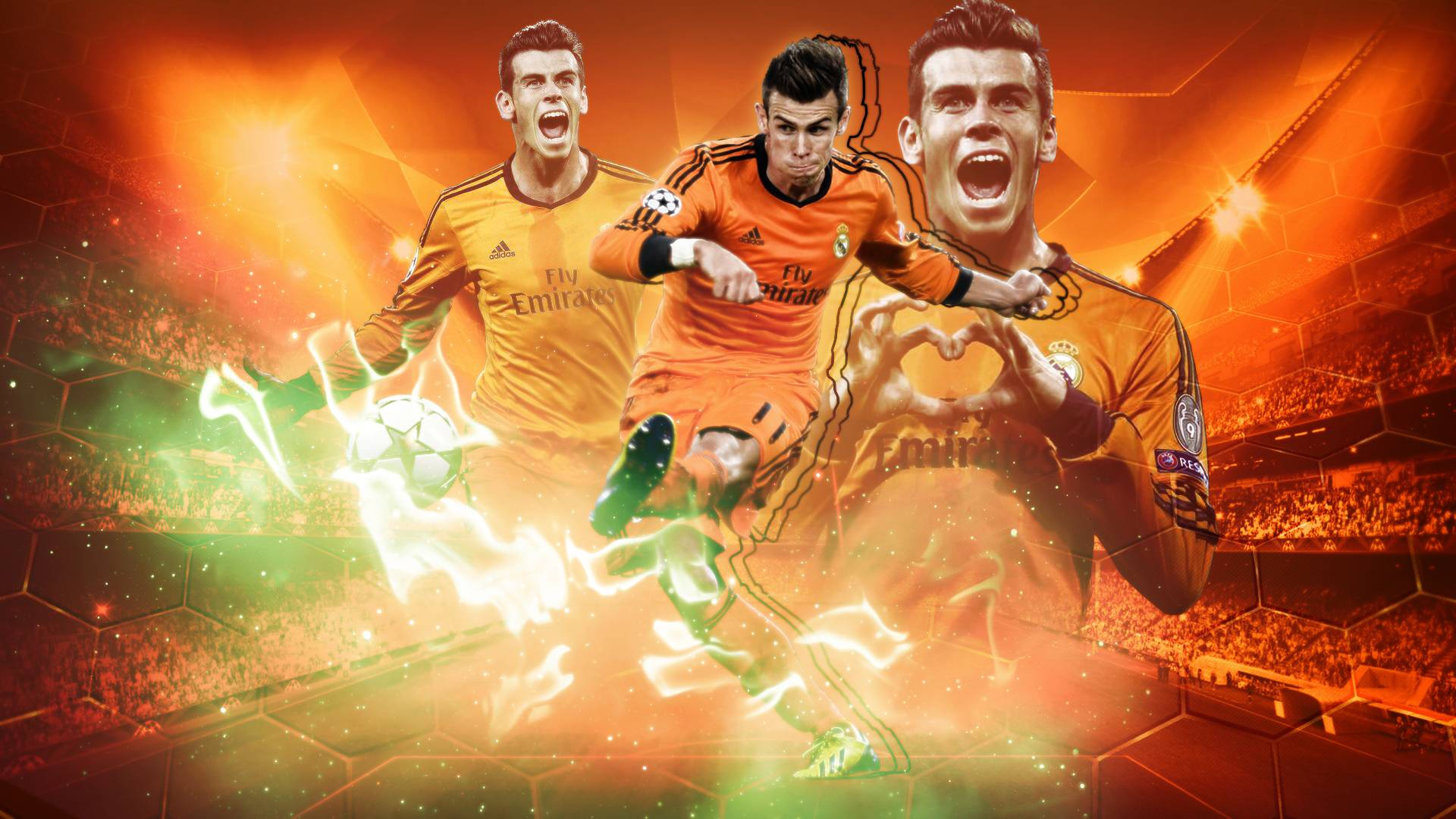 Gareth Bale wallpaper by BardockSonic on DeviantArt