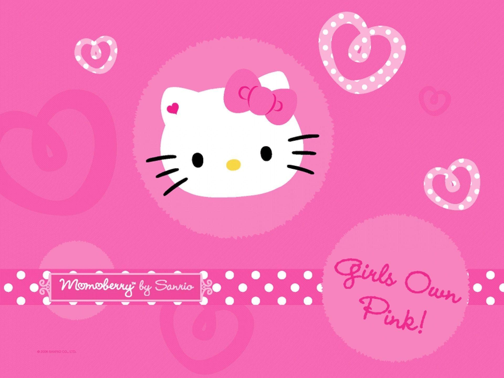 hello kitty backgrounds for laptops wallpaper cave. Black Bedroom Furniture Sets. Home Design Ideas