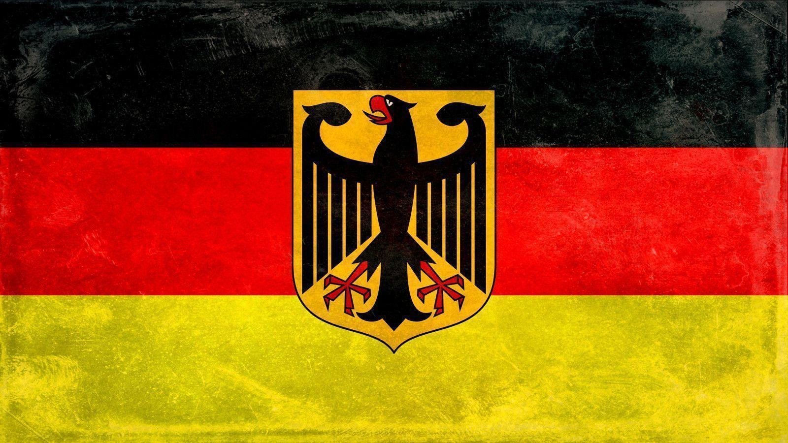 German Flag Wallpaper Widescreen - Wallpaper HD