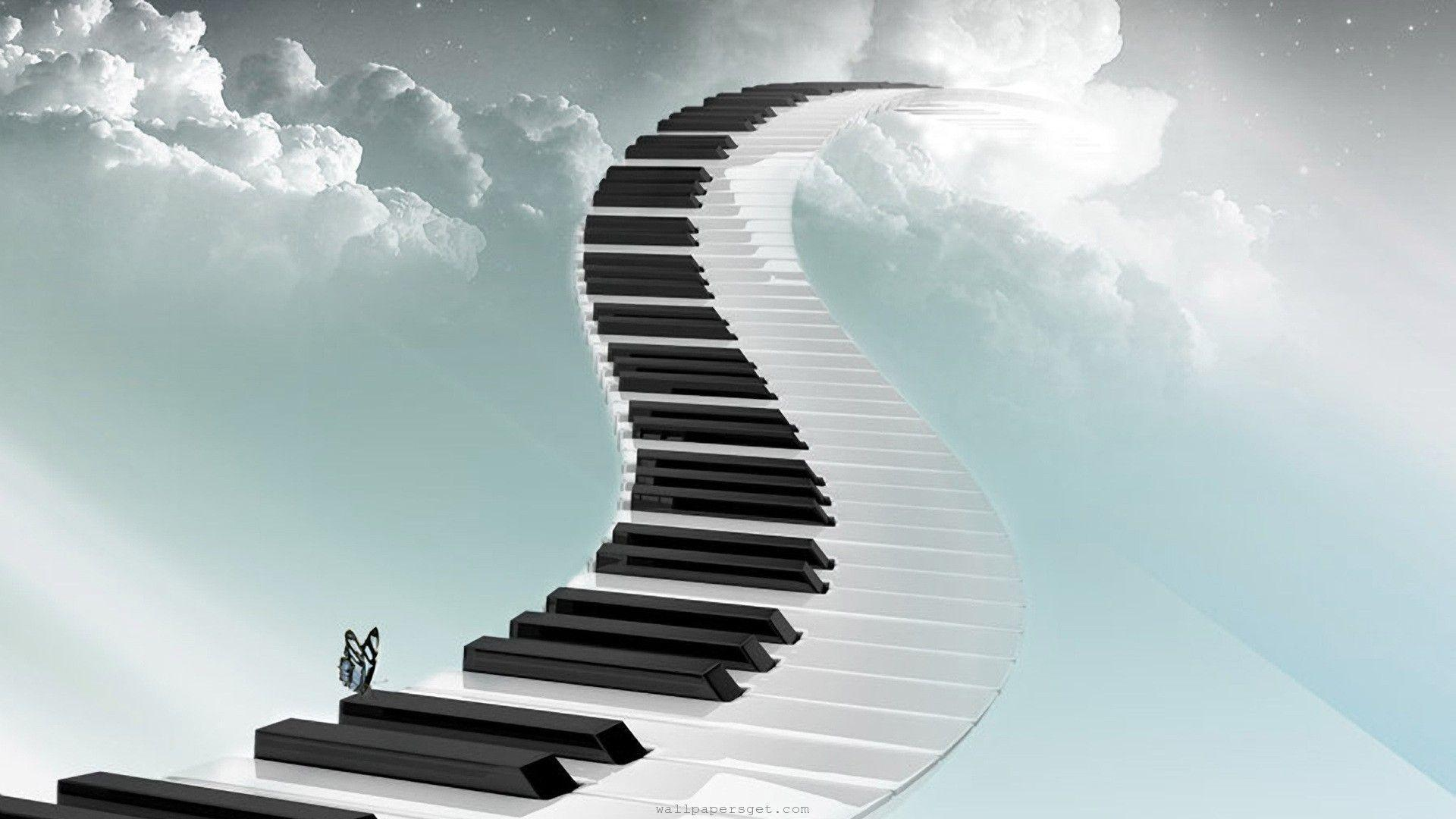 3d Jazz Music Wallpapers: Music Keyboard Wallpapers