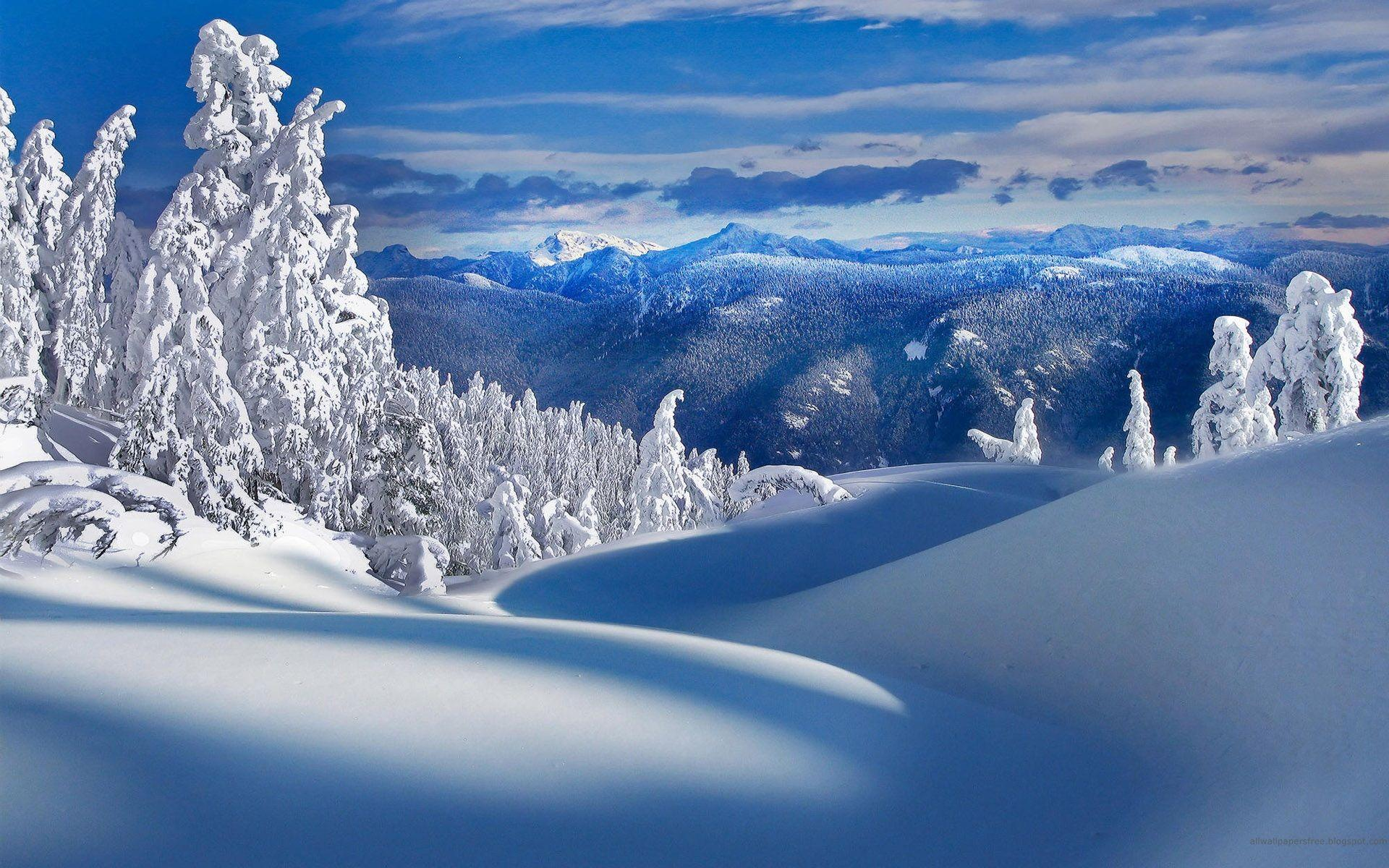 Free Winter Backgrounds Wallpapers - Wallpaper Cave