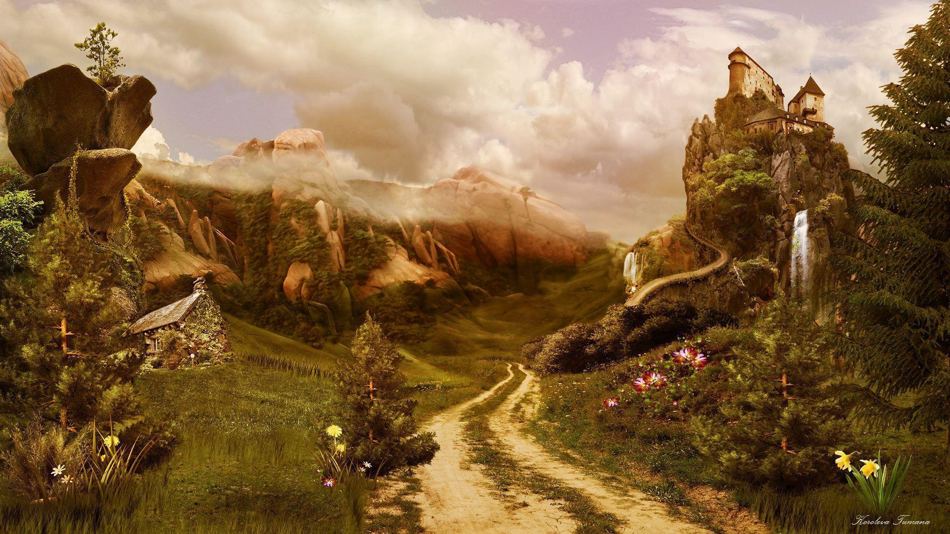 Fairy tale wallpapers wallpaper cave - Fantastic girl wallpaper hd ...