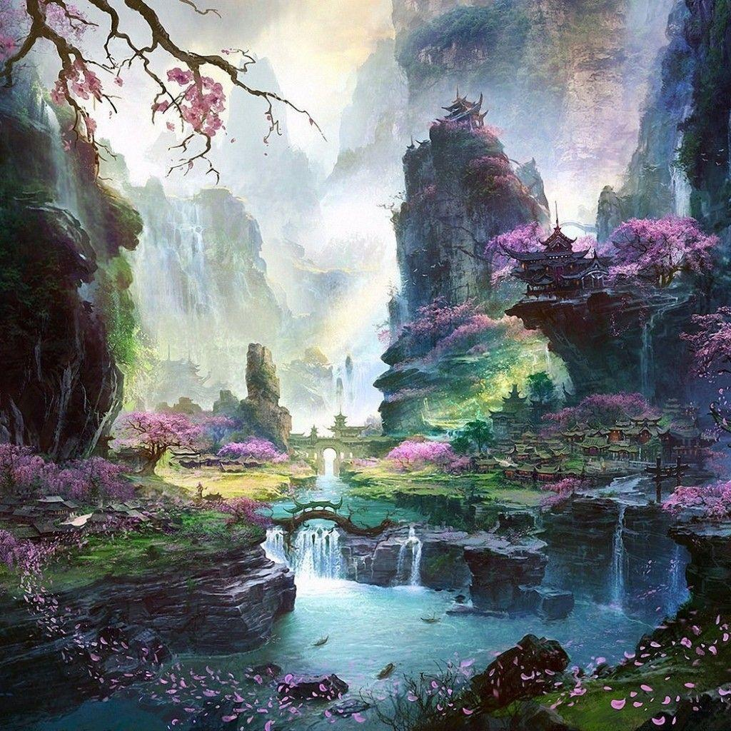 Japanese Landscape Painting Wallpaper Japanese Landscape Wal...