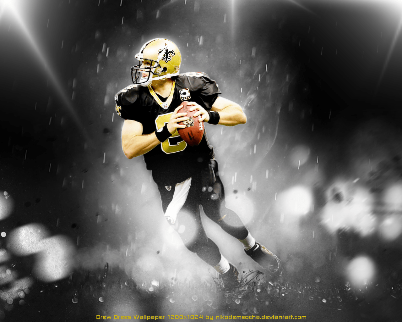 45 Nfl Football Players Wallpaper On Wallpapersafari: Drew Brees Wallpapers